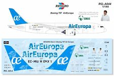 Revaro Decal Air Europa Boeing 787 Zvezda, Revell 1/144