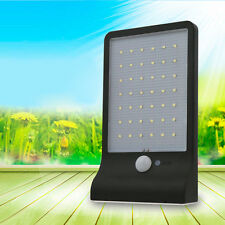 HOT 42 LED Solar Power Motion Sensor Garden Security Waterproof Outdoor Lamp HK