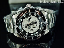 Invicta Pro Diver Dragon Automatic Wristwatch for Men, 47mm Case Stainless Steel, Stainless Steel Band - (26489)