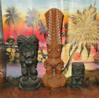 3 God Figure Hawaii Souvenirs Including Money God Kala Nui Made Of Lava