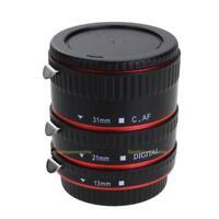 Autofokus Makro Zwischenringe 3-teilig 31mm 21mm 13mm für Canon EOS EF/ EF-S
