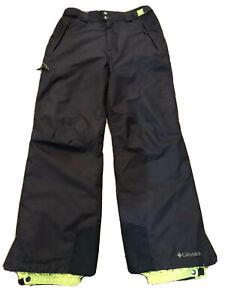 Columbia Bugaboo Brown Omni-Tech Waist Adjust Unisex Snow Pants Size: M