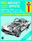 MG Midget & Austin-Healy Sprite (58-80) - Haynes Repair Manual