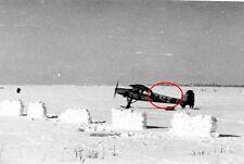 Orig. Foto - Flugzeug Fieseler Fi 156 Storch mit Schneekufen - Luftwaffe