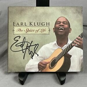 Autographed Earl Klugh Spice of Life CD 2008 Signed On Cover