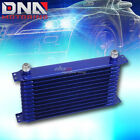 12-row 10an Full Aluminum Performance Enginetransmission Racing Oil Cooler Blue