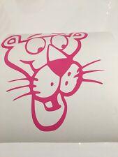Pink Panther cabeza, Coche Decal/Adhesivo para Windows, parachoques, paneles, Laptop