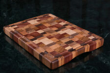 Cutting Board, Rectangle End Grain Butcher Block, Kitchen Chopping Boards Luxury