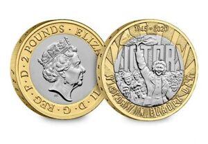 2020 UK VE Day CERTIFIED BU £2