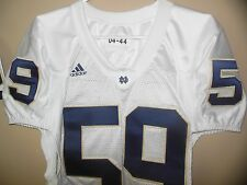 NOTRE DAME FIGHTING IRISH  GAME USED FOOTBALL JERSEY
