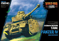 Meng WWT-013 German Medium Tank Panzer IV Q Edition Plastic Assembly Model 2018