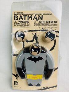 DC Comics Batman Painted Wood Figure DC Collectibles New & Sealed (read)