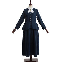 Women Harriet Tubman Historical Costume Susan B Anthony American Civil War Dress