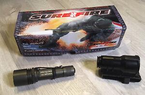 SureFire Millennium Series M2 Centurion Flashlight With Holder