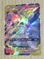 Gardevoir & Sylveon GX 130/214 Ultra Rare Pokemon Unbroken Bonds BRAND NEW!