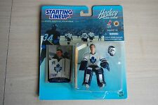 1999/00 CURTIS JOSEPH Starting LineUp Toronto Maple Leafs SLU figure goalie moc