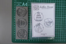A8 Cute Hedgehog Unmounted Rubber Stamp RS00027198