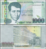 ARMENIA BILLETE 1000 DRAM. 2011 PAPEL LUJO. Cat# P.55a
