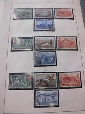 Sammlung, Schweiz Pro Patria 1938-1959 komplett (ohne Blocks) gestempelt (919)
