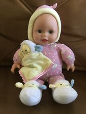 Fisher Price Little Mommy Bedtime Baby Lamb Lullaby Lights Up musical Doll