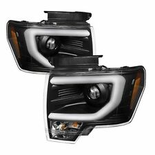 Spyder Auto 5077592 Projector Headlights (Black) Fits 09-14 Ford F150