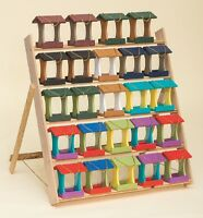 BIRD FEEDER - Amish Handmade Weatherproof Recycled Poly ~ 18 Bright Color Choice