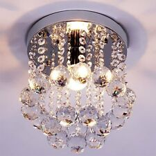 Pendant Ceiling Lamp Crystal Chandelier Ball Fixture Light Flush Mount Lighting