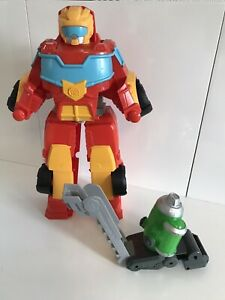 Playskool Heroes Transformers Rescue Bots Academy Hot Shot - Fire Engine Robot