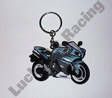 Yamaha YZF-R1 09-10 rubber key ring motor bike cycle gift keyring chain soft R1