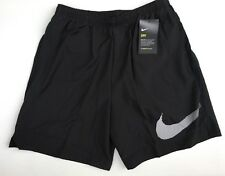 "Nike distance 7"" Running/ Training Shorts. Fully lined. Black. SIZE: Medium. BNW"