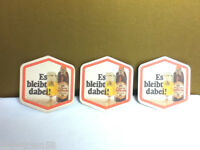 Gtuttgarter beer coaster bar coasters 3  Hofbrau Pilsner Es bleibt dabel! AK4