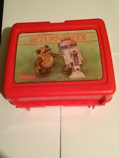 Star Wars  Return of the Jedi Wicket Plastic Lunch Box