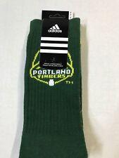 Portland Timbers Adidas MLS  Men's Socks Dark Green Size X-Large 12-15