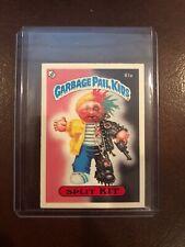1985 Garbage Pail Kids UK SPLIT KIT 81a PSA CENTERED 2nd Series 2 -GEMFANATIC-