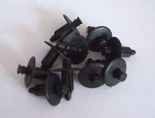 SAAB 9-3 and 9-5 BLACK Interior Panel Push Pin Mounting Clips (x10) 92152011