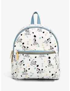 Danielle Nicole Disney 101 Dalmatians Bone Allover Print Mini Backpack