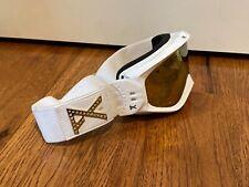 New ListingAnon women's Goggles-White And Gold-preowned- Good Condition ski snowboard