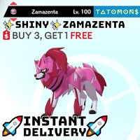 POKEMON SWORD AND SHIELD ✨SHINY✨ ZAMAZENTA 6IV 🚀Instant Delivery🚀