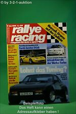 Rallye Racing 5/86 Ford GT 40 Porsche 944 Turbo Volvo