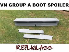 VN COMMODORE GROUP A BOOT SPOILER GROUP A NEW WITH BRAKE LIGHT