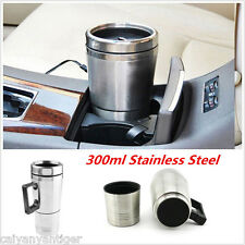 12V 300ml Portable In-Car Coffee Maker Tea Pot Autos Thermos Heating Travel Cup