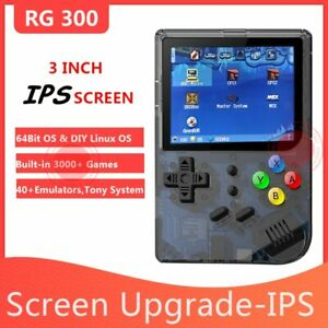 "Anbernic RG300 3"" 64 Bit IPS Screen Tony System Video Game Handheld Game Player"