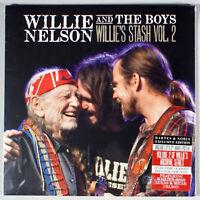 Willie Nelson & the Boys - Stash Volume Two 2 (2017) [SEALED] Vinyl LP + Poster