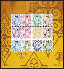 Definitive Postage Stamps Rama X. Thailand 28.7.2018 Block