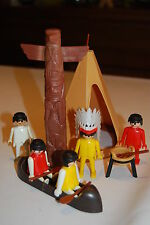 Playmobil 3483 d) Oeste western Tipi Indios Indians Sioux Vintage