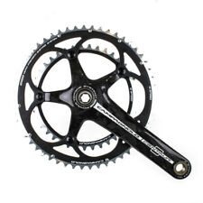 New Campagnolo Centaur Carbon 10s 39/53 172.5mm Black Crankset (OEM)
