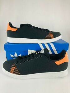Adidas Stan Smith Primeblue Black Orange (Men's US Size 11) New Shoes, FX5602