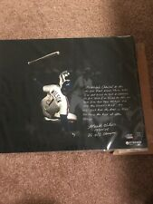 New York Mets Mookie Wilson Auto 16x20 Story Steiner Sports Coa