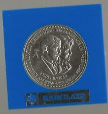 ROYAL WEDDING MEDD 1986 PRINCE ANDREW TO SARAH FERGUSON ISSUED BY BARCLAYS  BANK