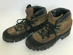 "Danner Combat Hiker Lace Ankle 6"" Boots 43513X Brown Men's US Size 8 W"